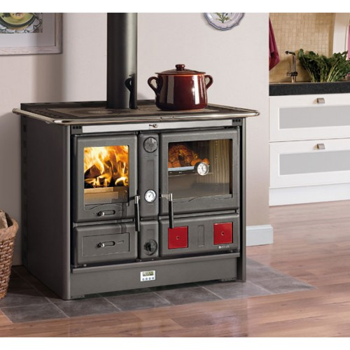 Готварска печка Роса Термо XXL Ready Д.С.А. 2.0 - Черен Антрацид